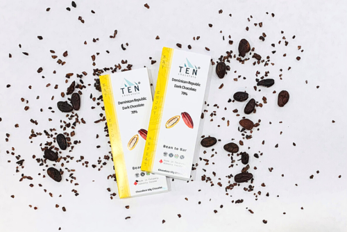 product image of dominican republic dark chocolate bar