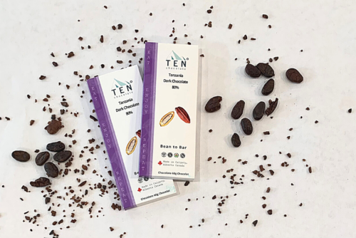 product image of tanzania dark chocolate bar