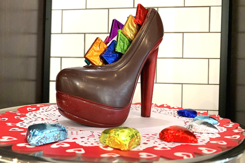 product image of chocolate shoe