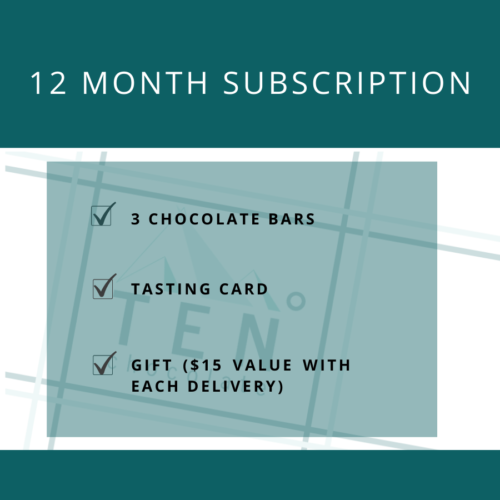 chocolate club 12 month subscription image