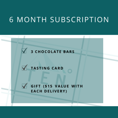 6 month chocolate club subscription image