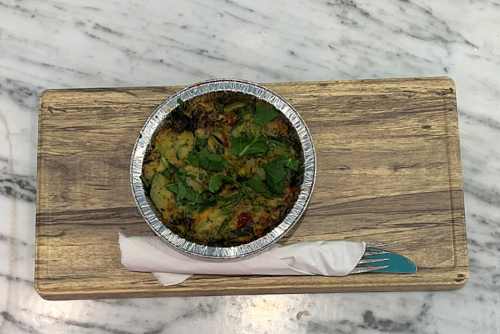 product image of veggie quiche